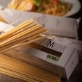 【パスタ…マンチーニ社のパスタ麺】