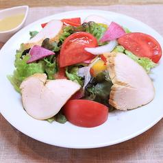 自家製燻製鶏ハムのサラダ ≪シーザードレッシング≫