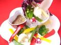 料理メニュー写真彩り野菜のバーニャカウダ