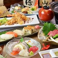 新鮮な魚介を使い四季折々の趣向で寛ぎの空間とお料理を