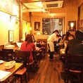 (2F)テーブル席全観@ビストロコマ西船橋店