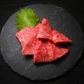 料理メニュー写真黒毛和牛赤身の3種盛り