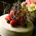 記念日や誕生日のお祝いに欠かせないケーキでサプライズ(要予約)★