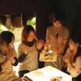 【女子会に人気のワケ1】◆オシャレな店内◆かわいくて、美味しくて、楽しい女子会ができる♪