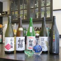 関東地方ではあまりお目にかかれない日本酒も提供!