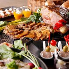 スーパーブッフェ グラスコート 京王プラザホテルのコース写真