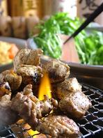 宮崎地鶏の地頭鶏(じとっこ)のいぶし焼