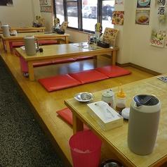 お座敷のテーブル席があるので、ご家族連れやご年配の方からお子様まで安心してお食事していただけます♪