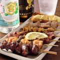 料理メニュー写真〈串物〉 お得な串盛り