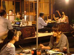 【冬】コタツ完備のお座敷席