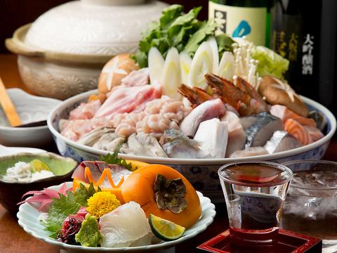 淡路産の野菜、肉を直送。新鮮な素材を料理して美味しく召し上がっていただける。