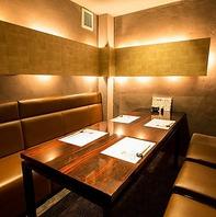 【個室】宴会/接待/会食などにお料理と空間でおもてなし