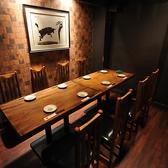 テーブル席個室・6~10名