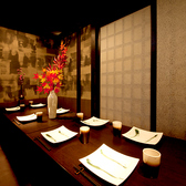 【新宿西口 個室居酒屋】各種個室はプライベート感ばっちり。新宿西口で団体様の個室居酒屋でのご宴会は当店で/新宿 個室 居酒屋 3時間 デート 女子会 誕生日 記念日 夜景
