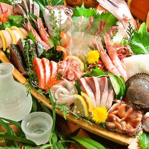 旬の味覚を楽しめる!!会社宴会にお勧め!コースも各種ご用意。宴会や飲み会にどうぞ。