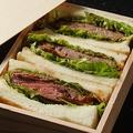 料理メニュー写真【寿々の知る人ぞ知る逸品メニュー】寿々特製カツサンド