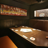 少人数の宴会や飲み会に最適なお部屋◆4名様~6名様のBOXテーブル個室となっており、落ち着いた雰囲気でゆっくりとお食事頂けます♪会社宴会や飲み会、又はプライベート空間にもお使い頂けるので女子会や同窓会など様々なシーンにご利用ください。掘りごたつの個室もございますので、場面にあわせてお使いください☆