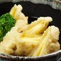 料理メニュー写真チーズのゆば巻天ぷらあげだし仕立て