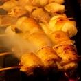 炭火で焼き上げる焼き鳥は、ふっくらジューシー♪(盛岡/駅前/焼き鳥/女子会/肉/ビール/レモンサワー)