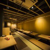 広々宴会個室は会社宴会や同窓会等におすすめ。