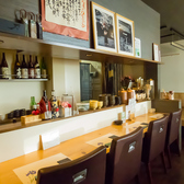 お一人様も大歓迎♪カウンター席でのんびり美味しいお酒と料理を楽しめる!!