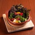 料理メニュー写真緑黄色野菜の温サラダ