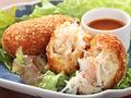 料理メニュー写真【絶対食べたい名物料理 NО,5】蟹蟹クリームコロッケ