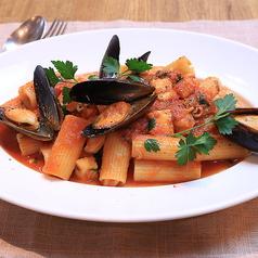 魚介のトマトソース ≪リガトーニ≫
