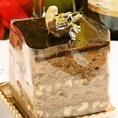 パティシエ特製ケーキ
