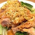 料理メニュー写真蒸し鶏のゴマだれサラダ -バンバンジー