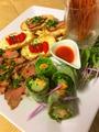 料理メニュー写真彩り前菜盛り合わせ