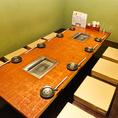 8名様用のテーブルとなっております。会社宴会や打ち上げ,飲み会など様々シーンに活躍◎