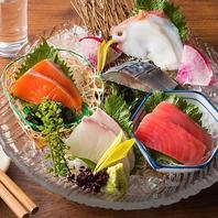 【北海道各地から届いた食材を真心こめてご提供】