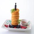 料理メニュー写真チーズリングタワー