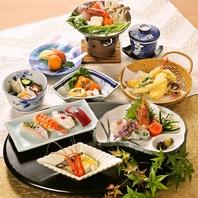 宴会コース充実。会席料理、各種鍋料理がございます。
