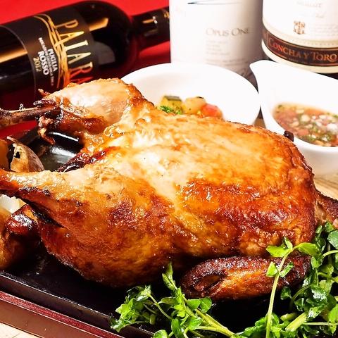 華味鳥プロデュースの鶏料理と充実のワインが揃ったお洒落バル♪
