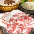 【自慢の一品】イベリコ豚の輸入の承認を得たお肉屋さんから仕入れています☆また、イベリコ豚全体の約6.6%と言われている『ベジョータ』のみを使用。味にとことん拘っています。
