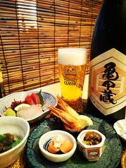 海鮮 地酒 北前鮨のコース写真