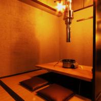 【個室あり】大人の隠れ家でごゆっくりお寛ぎ頂けます