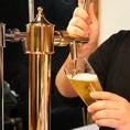 カウンター備え付けのビールサーバー有。
