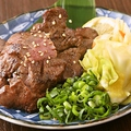 料理メニュー写真熟成炙り牛タン