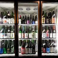 プレミアムな日本酒もご用意しております