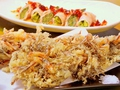 料理メニュー写真心の定番!もずくとさきイカの天ぷら