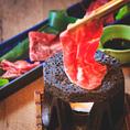 淡路島のウリは鮮魚だけではありません。「淡路牛」も絶品です。とろける脂の旨味をご堪能下さい。