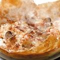 料理メニュー写真名物!海の幸のパイ包みリゾット