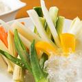 料理メニュー写真8種野菜のバーニャカウダ