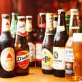 料理メニュー写真世界のビール &種類豊富なワイン