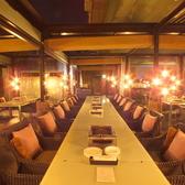 様々な人数に合わせてテーブル・お席をレイアウトできます。お気軽にご予約ください!