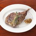 料理メニュー写真骨付き子羊のグリル