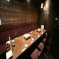 2階のソファーテーブルは会社の宴会にピッタリ!お仕事帰りに会社の仲間と一杯いかがでしょうか?美味しいお酒とお食事をご用意してお待ちしております。人気の黄金ねぎしゃぶは金山豚酒場 活々豚々の看板メニュー◎明日の活力に豚肉でエネルギーチャージ!!